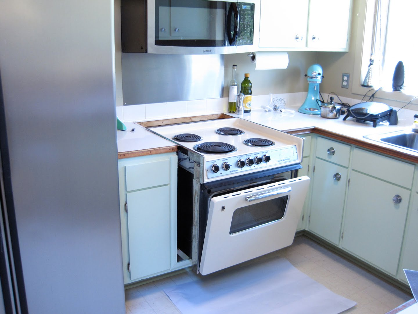 Kitchen refresh part 3 : The exciting part